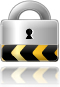 Image of padlock to signify security